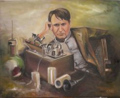 Edison and the Phonograph by SAOlsen