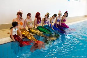 Adela, little mermaid by Eeva-line