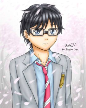 Arima Kousei by VectorIV