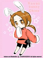 Kawaii Bunny China by IDASWANZ