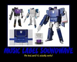Music Label Soundwave by Onikage108