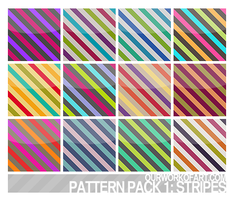 Stripes - Pattern Pack 1 by amanda-zkfski