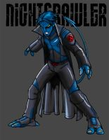 Nightcrawler Redesign by microwaved-infinity