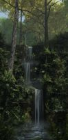 Forest Falls by curious3d