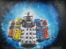 The New Daleks by lizzie9009