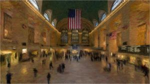 Grand Central, Oil on Canvas by pygoscelis