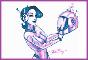 Space Girls Kill Time... by Drawingremy