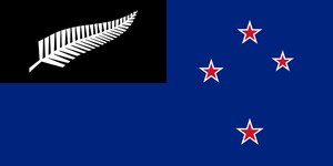Another (not so original) flag for New Zealand by LarrySFX