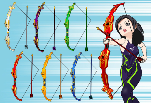 Magic Bows And Arrows Pack by Daiger1975