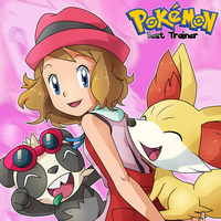 Best Trainer: Serena with Fennekin and Pancham