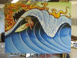Surf Art by SK8R5