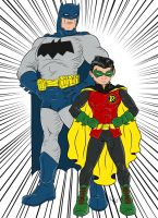 Dynamic Duo by Kaufee