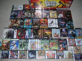 Games Collected Aug.-Oct. 2008 by JJRRS