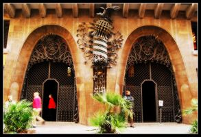 Palau Guell II by 250981