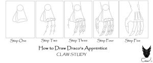 HTD Draco's Apprentice Claw by Vakama3