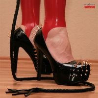 Spiked bullwhip by malkiss