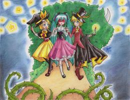 Vocaloid- Trick and Treat by Drunny