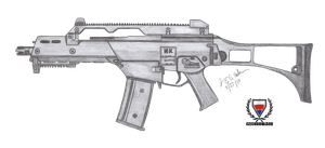 HK G36C by CzechBiohazard