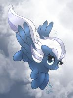 MLP FIM - New Secondary Pony Night Glider by Joakaha