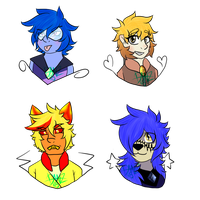 A bunch of Nerds by CollisionXIII