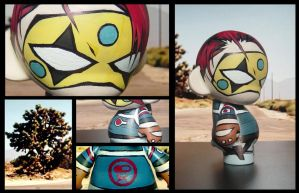 Party Poison Munny by LeftHandedMutant