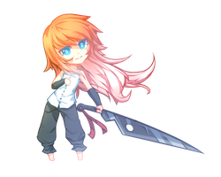 Sword Chibi by Saige199