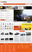 Auto portal webdesign by webodream