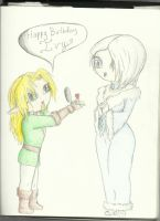 Happy Birthday Ivy by Remthedeathgoddess