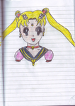 Eternal Sailor Moon drawing by Goldie25