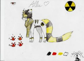 Allie My Fursona Ref by keikai-chan