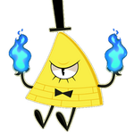 Bill Cipher Fire Animation by Heilos