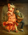 Flamenco dancer by jogijs