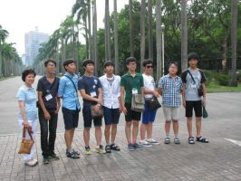 Taiwan University-Third Years Group Pic-2 by pallaza