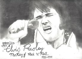 Elvis Presley by Kalana321