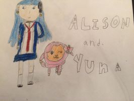 Alison and Yuna by Firespirit27