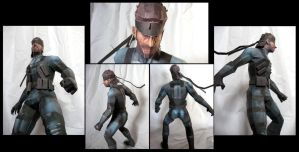 Solid Snake -SSBB version- by MakenXXX