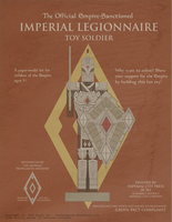 Elder Scrolls Online - Imperial Soldier Papercraft by RocketmanTan