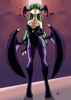 Morrigan by anime2people