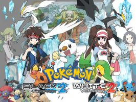 Pokemon Black and White 2 Wallpaper by MoeRenai