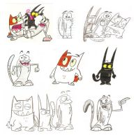 Catscratch sheet by Spectrumelf