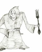 100 Character Challenge - 1 - The Grub Reaper by Reyai-Bloodrose