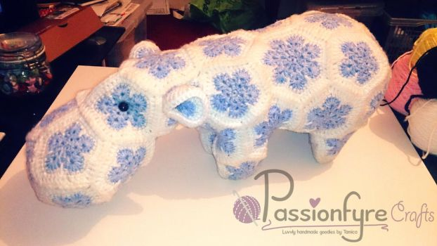 Winter Hippo by passionfyre