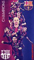 FC BARCELONA - CHAMPIONS by Leo10thebest