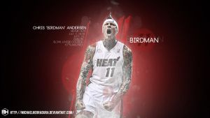 Chris Andersen Miami Heat wallpaper by michaelherradura