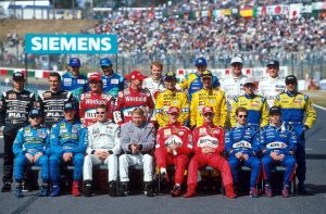 1999 Drivers' Group Photo by F1-history