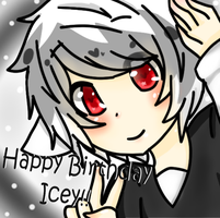 HBD Icey! by CuteNikeChan