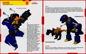 TARGETMASTER SAVAGE by F-for-feasant-design