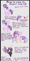 How to make the perfect pony OC by TheCheeseburger