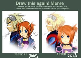 Draw it Again Meme - Seth and Rui by StillJade
