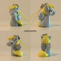 Derpy Hooves Charm by ChibiSilverWings